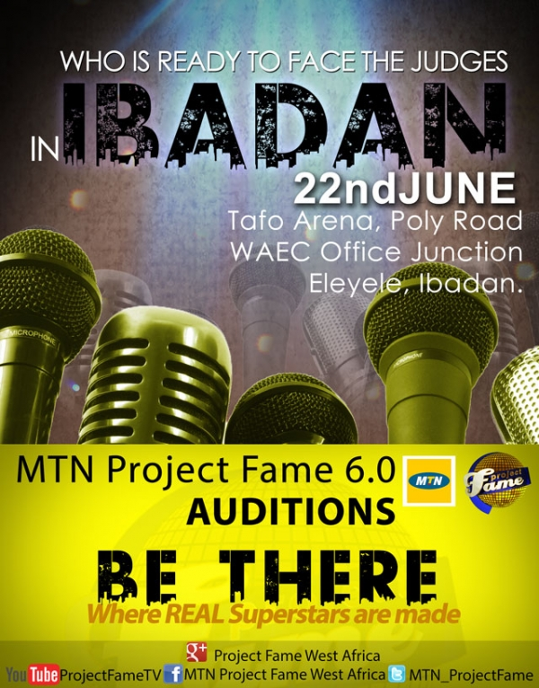 Project fame season 6 audition venues for wedding